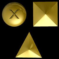 3D Siegel geometrische Formen
