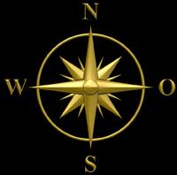 3D Siegel Kompass