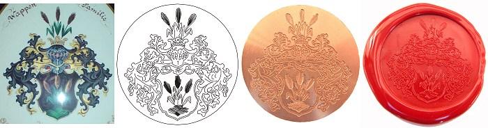 Abbildung Wappensiegel